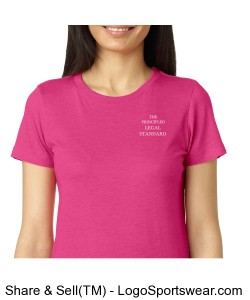 A principled love for God - Womens - Hot Pink Design Zoom