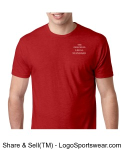 Salvation is by Faith - Mens - Vintage Red Design Zoom