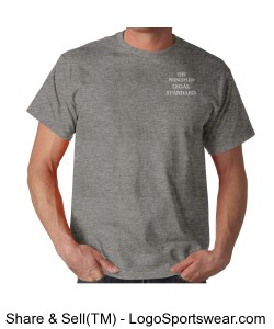Salvation is by Faith - Mens - Sport Grey Design Zoom
